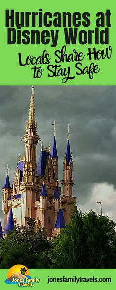 We are in peak hurricane season! Do you know what it is like when a hurricane comes through Disney World? Learn from the insiders! #disney #disneyworld