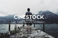 CineStock Photoshop Actions by Contrastly Shop on @creativemarket