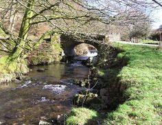 Robbers Bridge Exmoor National Park