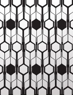 Retro geometric wallpaper. http://www.worldstores.co.uk/p/Retro_Geometric_Wallpaper-_Film_Noir.htm