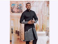 African Male Suits, African Clothing For Men, African Men Fashion, African Wear, African Attire, Mens Clothing Styles, Men's Clothing, Dashiki Clothing, African Clothes