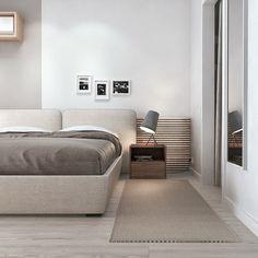 10 modi per arredare una camera da letto piccola. - Giulia Grillo Architetto | Art Home Bedroom Design Inspiration, Modern Bedroom Design, Bed Design, Home Interior Design, Design Hotel, Modern Design, Home Bedroom, Bedroom Decor, Bedroom Lighting