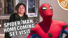 Was Zendaya's Real Role Revealed from our Spider-Man Set Visit? (Nerdist...