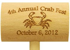 This dungeness crab mallet is for an order all the way in California!