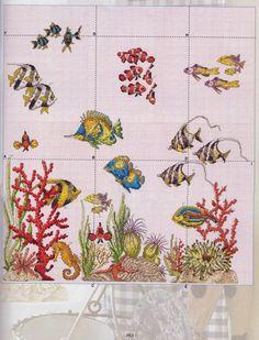 Gallery.ru / Архив по ссылке - 5 - Mosca Cross Stitch Sea, Cross Stitch Books, Cross Stitch Borders, Cross Stitch Animals, Cross Stitch Flowers, Cross Stitch Charts, Cross Stitch Designs, Cross Stitching, Cross Stitch Embroidery