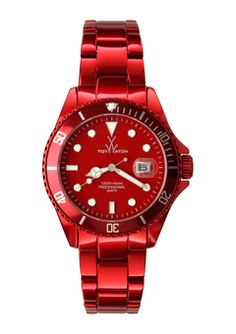 TOYWATCH  Red Metallic