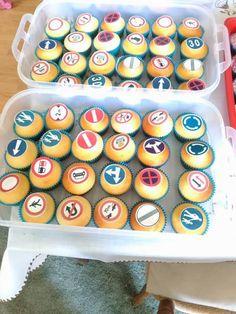 Dopravné muffinky do škôlky :-)  Takto sa učia dopravné značky! Autorka: gongolka. Tortyodmamy.sk