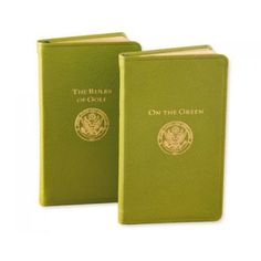 The USGA Rules of Golf Book http://www.adlersjewelry.com/product.php?scid=26&pid=3445