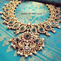 26 Breathtaking Heavy Diamond Necklace Set Designs • South India Jewels