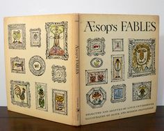 1965 Aesop's Fables Provensen illustrated by por VioletQVintage