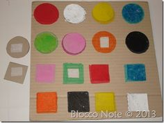 gioco per riconoscere i colori fai da te