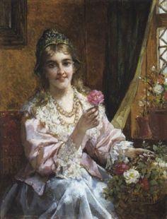 Jan Portielje - Voulez-vous la rose?, 1907