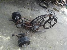 Drift trike motorizado 100cc Trike Scooter, Trike Motorcycle, Drift Trike Parts, Drift Trike Motorized, Custom Rat Rods, Trike Kits, Custom Trikes, Minibike, Buggy