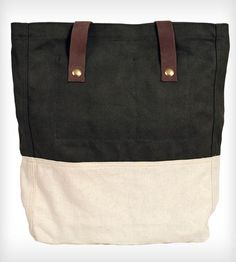 The Simple Tote - Olive Top by ESPEROS on Scoutmob Shoppe, supports work and education in Haiti