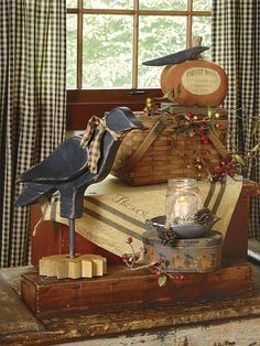 Country Sampler's 30 Icons of Country Style: Crows