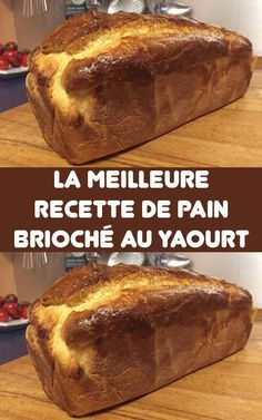 The best recipe for Brioche Bread with Yogurt - A very light and tasty brioche with a nice, airy crumb, a delight. If you are looking for a brioche - Cooking Chef, Crock Pot Cooking, Cooking Recipes, Desserts With Biscuits, No Bake Desserts, Mexican Dessert Recipes, Brioche Bread, Different Cakes, Cake Recipes