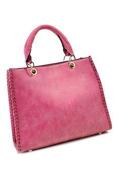 Double Straps Sheer Rose Bag