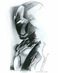 Iron Man by Jeff Dekal