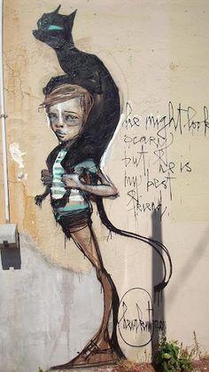 Des yeux pour voir: graffiti By Herakut