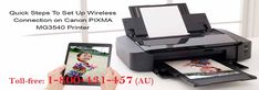 To know how to setup #Canon Pixma wireless printer Call 1-800-431-457 or find the right process here discussed by the experts. The step-by-step process has been described over here for setting up the Canon Pixma wireless series of printers on your windows computers. The whole procedure is very simple and easy to follow but if there is any problems for setting up the Canon printer get 24-hour online support service offered here for solving such issues remotely.