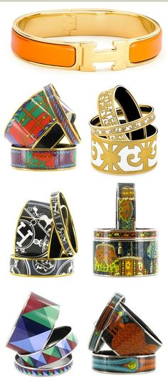 I'm almost always wearing an Hermes Enamel bracelet. Hermes Bracelet, Hermes Jewelry, Enamel Jewelry, Bangle Bracelets, Bangles, Women's Jewelry, Jewelry Accessories, Fashion Accessories, Jewelry Design