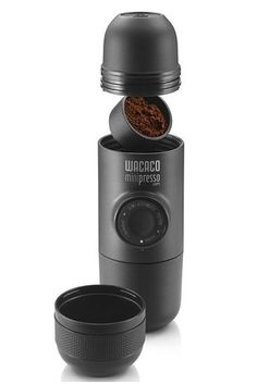 A super compact, hand-operated espresso maker for a better-than-Starbucks caffeine fix anytime, anywhere. | Here's What People Are Buying On Amazon Right Now