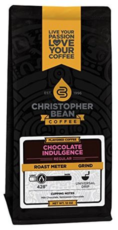 Cholocate Indulgence Flavored Decaffeinated Ground Coffee 12Ounce Bag -- You can find out more details at the link of the image.