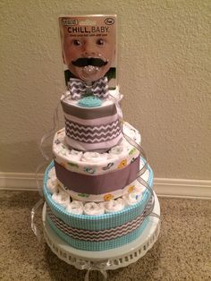 Grace Layoso Little Man Diaper Cake