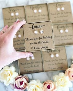 FREE personalization, gift wrap and shipping! Bridesmaid Gifts From Bride, Bridesmaid Gift Boxes, Bridesmaid Proposal Gifts, Asking Bridesmaids, Bridesmaids And Groomsmen, Bridesmaid Request Ideas, Brides Maid Gifts, Bridesmaid Gifts Will You Be My, Ask Bridesmaids To Be In Wedding