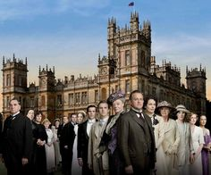 Serious Entertaining: A #Downton #Abbey Dinner Party