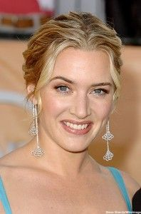 Kate Winslet. Absolutely fabulous and amazing woman. Classic Beauty.