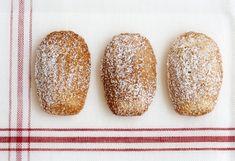 Lavender honey madelines