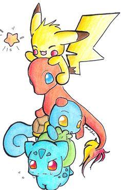 Bulbasaur,Squirtle,Charmander,Pikachu