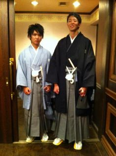 My japanese friends use hakama on their graduation day. I take this picture from Yoshida photo's album in FB.
