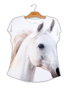 Camiseta Premium Evasê Cavalo Árabe www.usenatureza.com #UseNatureza #JeffersonKulig