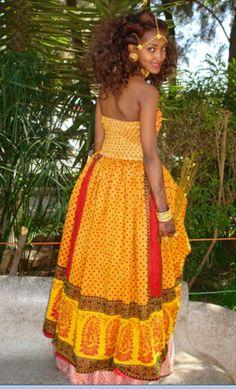 Eritrean dress