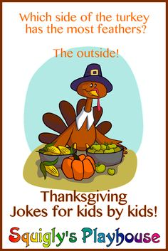 Funny Thanksgiving Jokes For Kids