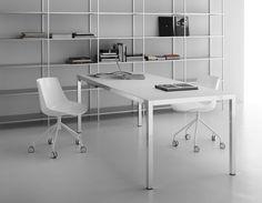 """libreria """"minima"""" e scrivania """"desk"""" by Mdf"""