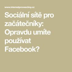 Facebook, Internet, Math Equations, Wifi