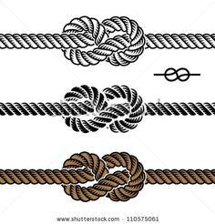 infinity rope knot by Roman Sotola, via ShutterStock
