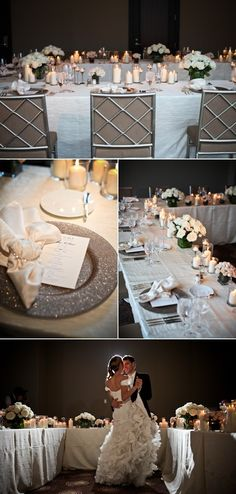 Talk about Sparkle! Our Lino Ginger Glitter charges make a GORGEOUS place setting!