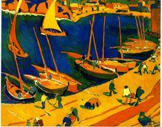 André Derain. Fauvisme. Mon tableau prefere de Derain.