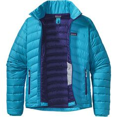 Down Sweater Jacket is not just any other down jacket! It's super lightweight, highly compressible with 800-fill-power down. Keeps you warm without overheating, also great for layering under your hardshell rain jacket for skiing. Stuff it in its own integrated stuff sack #Patagonia at RockCreek.com
