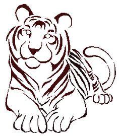 Tribal Tiger Tattoos on Tiger Tribal Tattoo By  Eternalgravity On Deviantart