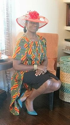 Sew Virtuous Designs Top Africa Style, Kitenge, Africa Fashion, African Dress, Dress Fashion, Warehouse, Captain Hat, Chiffon, Sewing