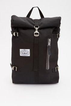 Poler Classic Rolltop Backpack - Black