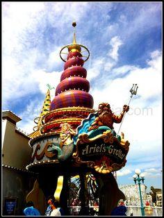 #Ariel's Grotto - #Disneylandia al Día™