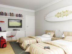 Muito espaço e facilidade para se mobiliar