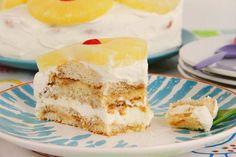 Tarta de piña y crema de queso » Recetas Thermomix | MisThermorecetas Food N, Food And Drink, Fruit Cupcakes, Cooking Time, Vanilla Cake, Cheesecake, Desserts, Recipes, Convertible