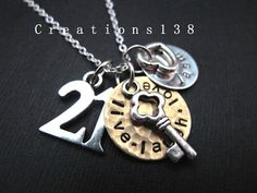 Personalized Any Name 21st Birthday Gifts Live by creations138, $37.00